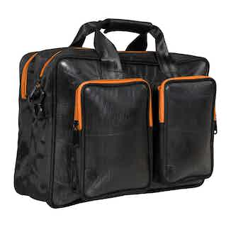 Laptop bag Mountain Panda from Ecowings in Bags, Men's Sustainable Fashion