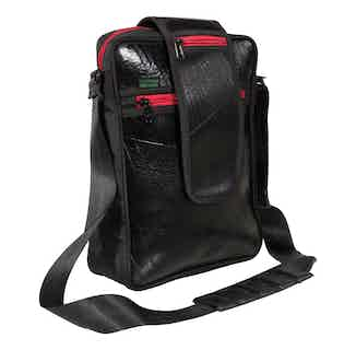 Laptop Shoulder Bag Elephanta from Ecowings in Bags, Men's Sustainable Fashion