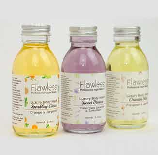 Body Wash Gift Set - 100ml from Flawless in Bath & Shower, Sustainable Beauty & Health
