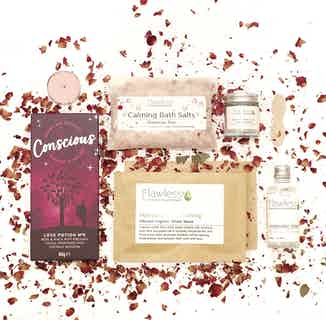 Rose Pamper Box from Flawless in Gift Sets, Sustainable Beauty & Health