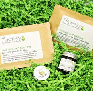 Vegan Beauty Gift Box from Flawless in Gift Sets, Sustainable Beauty & Health