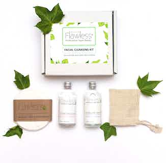 Cleansing Facial Kit - Zero Waste from Flawless in Bath & Shower, Sustainable Beauty & Health