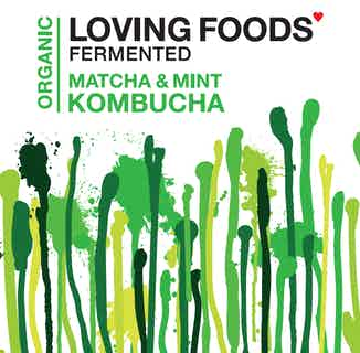 Organic Kombucha Mixed Case | 3 Flavours | 330ml from Loving Foods in Fermented Food & Drinks, Health Foods