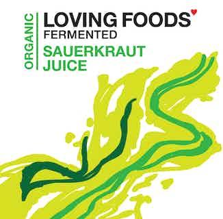 Organic Sauerkraut Juice | 250ml | Single or Multi from Loving Foods in Fermented Food & Drinks, Health Foods