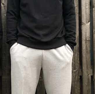 Organic Cotton & Jersey Men's Sweatshirt | Black from Rozenbroek in Sweaters & Jumpers, Tops