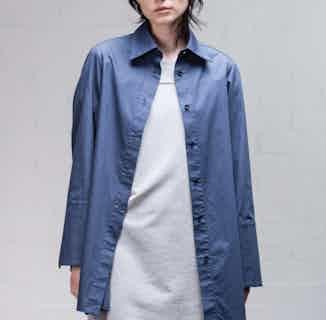 Organic Cotton Women's T-Shirt Dress | Grey from Rozenbroek in Dresses, Dresses & Skirts