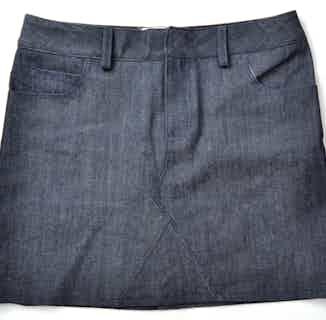 Organic Women's Denim Skirt | Dark Blue from Rozenbroek in Skirts, Dresses & Skirts