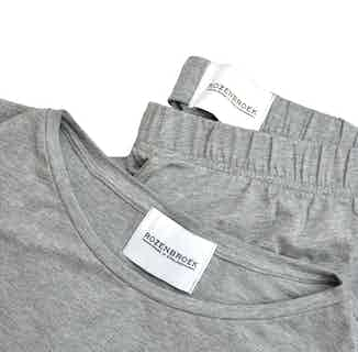 Organic Bamboo Women's Pants & T-Shirt Set   Grey from Rozenbroek in Sleepwear, Women's Sustainable Clothing