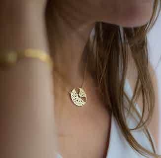 Seville Segment Pendant, Gold from Little by Little in Necklaces, Jewellery
