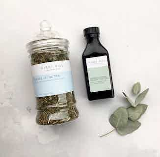 Natural Slow Flow Kit | Herbal Tonic Tea & Organic Tincture from Nikki Hill Apothecary in Herbs & Homeopathy, Sustainable Beauty & Health