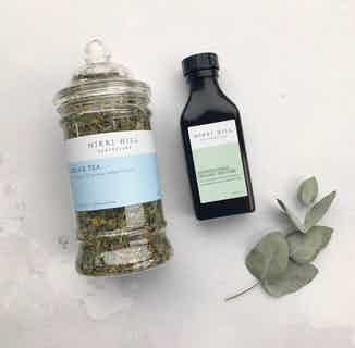 Natural Relax & Restore Kit | Calming Herbal Tea & Organic Tincture from Nikki Hill Apothecary in Herbs & Homeopathy, Sustainable Beauty & Health