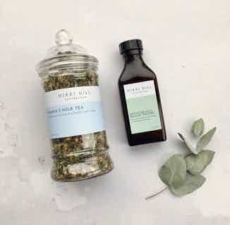 Natural Mama's Milk Kit | Herbal Tea & Root Organic Tincture from Nikki Hill Apothecary in Herbs & Homeopathy, Sustainable Beauty & Health