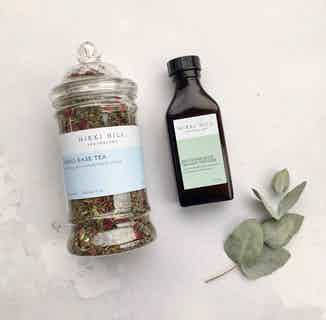 Natural Meno-Ease Kit | Herbal Tea & Organic Tincture | Menopause from Nikki Hill Apothecary in Herbs & Homeopathy, Sustainable Beauty & Health