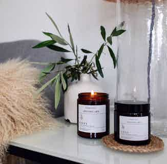 Cosy Aromatherapy Soy Wax Candle | Clove, Cinnamon & Sweet Orange | 120 & 180 & 500ml from Nikki Hill Apothecary in Lighting & Candles, Homeware
