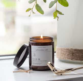 Calm Aromatherapy Soy Candle   Essential Oils   120g or 180g or 500g from Nikki Hill Apothecary in Homeware, Sustainable Homeware & Leisure
