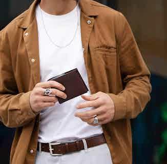 Essentials Gift Set - Coin Wallet & Belt in Brown from Watson & Wolfe in Belts, Accessories