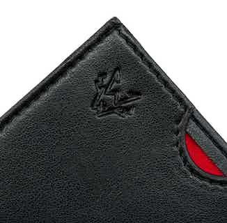Nano Card Case in Black from Watson & Wolfe in Wallets & Card Holders, Accessories