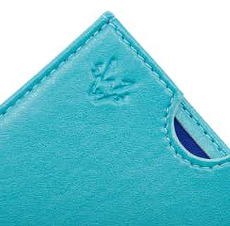 Nano Card Case in Turquoise from Watson & Wolfe in Wallets & Card Holders, Accessories