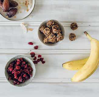 Banana Berry Bites from Moral Fibre in Snacks & Treats, Sustainable Food & Drink