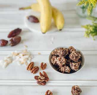 Banananut Bites from Moral Fibre in Snacks & Treats, Sustainable Food & Drink