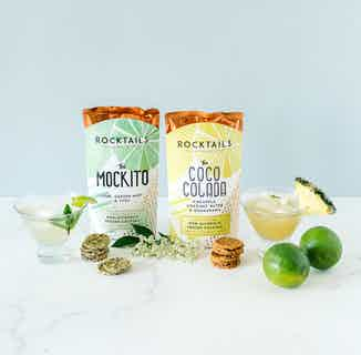 Non Alcoholic Cocktail Party Pack For Two from Moral Fibre in Snacks & Treats, Sustainable Food & Drink