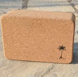 Cork Yoga Block | Hypoallergenic and Sustainable from Yatay Yoga in Yoga Equipment & Accessories, Sports & Exercise