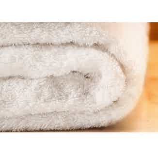 Organic Cotton Fairtrade Bath Towel | White from Their story in Bathroom, Sustainable Homeware & Leisure