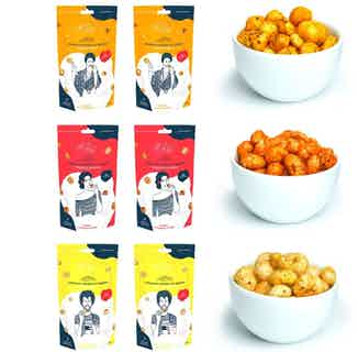 Oh Lily! savoury snack box ( x6) from Oh Lily Snacks in Nuts, Seeds & Grains, Health Foods