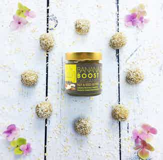 Banana Boost | Organic Peanuts & Crunchy Banana Butter | 175g or 900g from Jake's Boost in Grocery, Sustainable Food & Drink