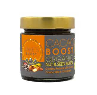 Cacao Boost | Organic Cacao Nibs & Chia Seeds Butter | 175g or 900g from Jake's Boost in Grocery, Sustainable Food & Drink