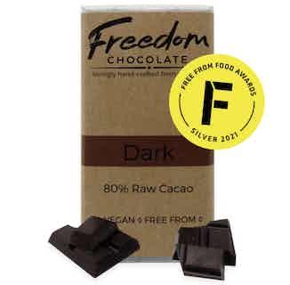 Dark   Organic Vegan Chocolate *Limited Edition*   90G from Freedom Chocolate in Bars, Chocolate