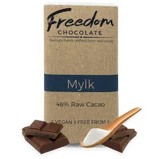 Mylk | Organic Vegan Chocolate | 30G from Freedom Chocolate in Bars, Chocolate