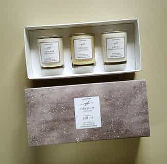 Signature Collection | Natural Soy & Rapeseed Essential Oils Triple Candle Gift Set from Yummy Home in Lighting & Candles, Homeware