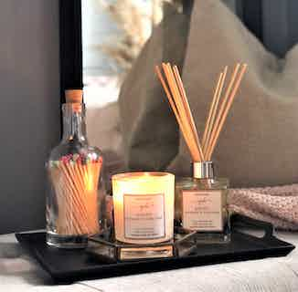 Purity | Soy & Rapeseed Natural Wick Candle | Bergamot & Ylang Ylang | 30cl from Yummy Home in Lighting & Candles, Homeware