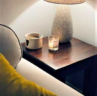 Vibrance | Soy & Rapeseed Natural Wick Candle | Citrus | 20cl from Yummy Home in Lighting & Candles, Homeware
