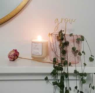Serenity | Soy & Rapeseed Natural Wick Candle | Pure Lavender | 20cl from Yummy Home in Lighting & Candles, Homeware