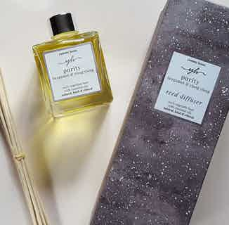 Purity | Natural Essential Oil Reed Diffuser | Bergamot & Ylang Ylang | 200ml from Yummy Home in Scents & Fragrance, Homeware
