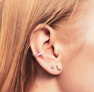 Triad Earrings - Silver from So Just Shop in Jewellery, Women's Sustainable Clothing