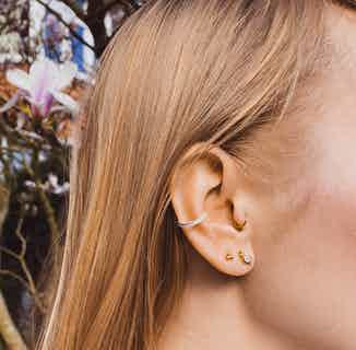 Ear Cuff - Gold from So Just Shop in Jewellery, Women's Sustainable Clothing