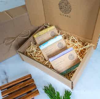 Mix and Match Artisan Soap Gift Box- Set of 3 from Clean U Skincare in Gift Sets, Sustainable Beauty & Health