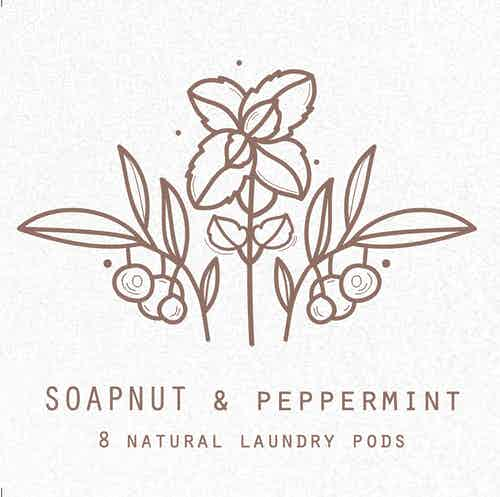 Soapnut Natural Laundry Pods from Clean U Skincare in Laundry, Household & Laundry