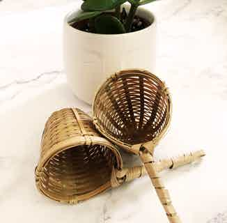 Handcrafted Bamboo Tea Strainer from Clean U Skincare in Tea, Drinks