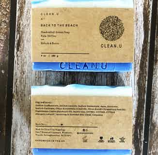 Back to the Beach- Handcrafted Artisan Soap Bar from Clean U Skincare in Soaps & Hand Wash , Hygiene
