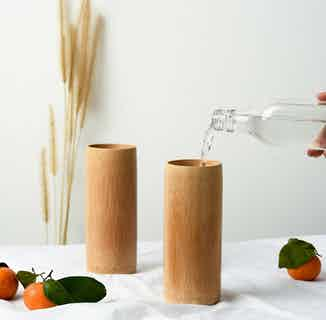 Natural Bamboo Cup from Clean U Skincare in Sustainable Homeware & Leisure,