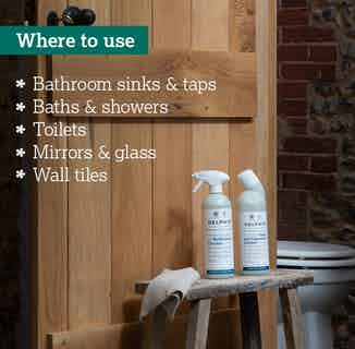 Eco Friendly Sustainable Bathroom Cleaner | 700ml from Delphis Eco in Cleaning Products, Household & Laundry