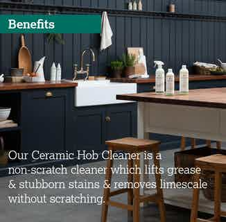 Eco- Friendly Sustainable Ceramic & Induction Hob Non Scratch Cleaner | 500ml from Delphis Eco in Cleaning Products, Household & Laundry