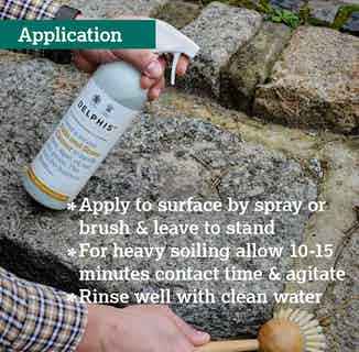Eco- Friendly Sustainable Patio and Stone Cleaner | 700ml from Delphis Eco in Cleaning Products, Household & Laundry
