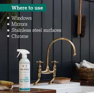 Eco-Friendly Sustainable Glass & Stainless Steel Cleaner | 700ml from Delphis Eco in Cleaning Products, Household & Laundry