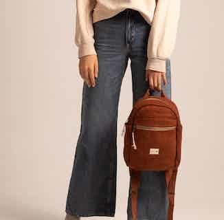 Mini Yala Backpack 100% Hemp Rust from Hemper Handmade in Backpacks, Bags