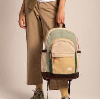 Annapurna Backpack Green from Hemper Handmade in Backpacks & Rucksacks, Bags